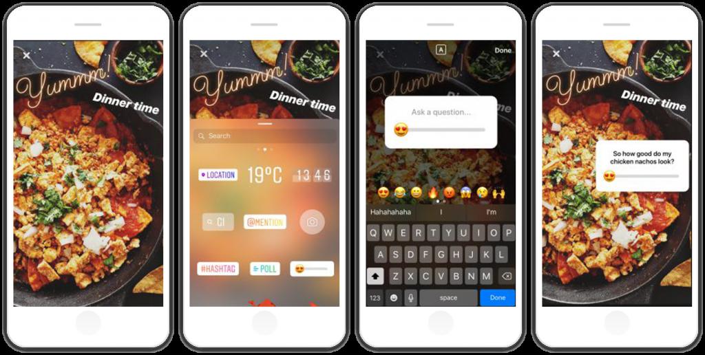 insta-poll emoji slider